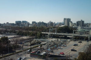 首都高1号羽田線もみえます