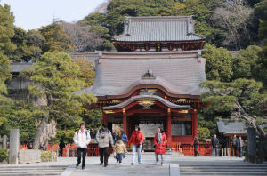 『鶴岡八幡宮』正面