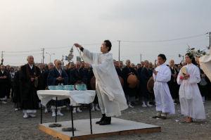 カトリック神父さんによる御祈り