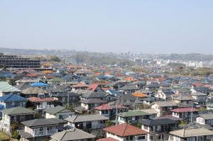 湘南鷹取の住宅街