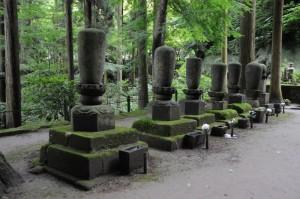 歴代尼僧墓所