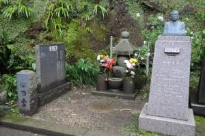 織田幹雄さんの墓所