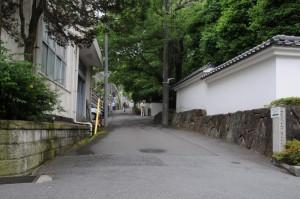 旧直木三十五邸入口