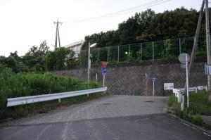 栄高校の南側