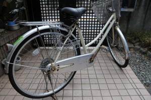 何年も乗ってる自転車