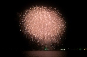 最後に上がった花火