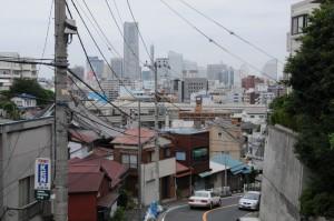 地蔵坂からの風景