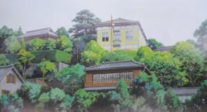 港の高台に建つ「コクリコ荘」