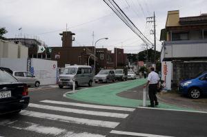 六浦消防署辺りまで渋滞
