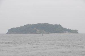 東京湾に浮かぶ無人島「猿島」