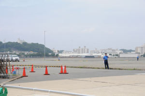 米海軍横須賀基地が望めます