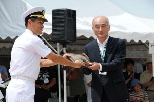 船長と横須賀副市長