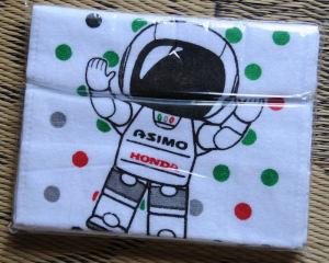 ASIMOのタオル
