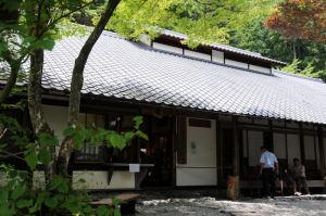 町営「奈良田の里温泉」