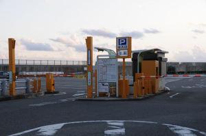 葉山港駐車場入口