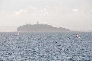 江の島へ進んでいきます