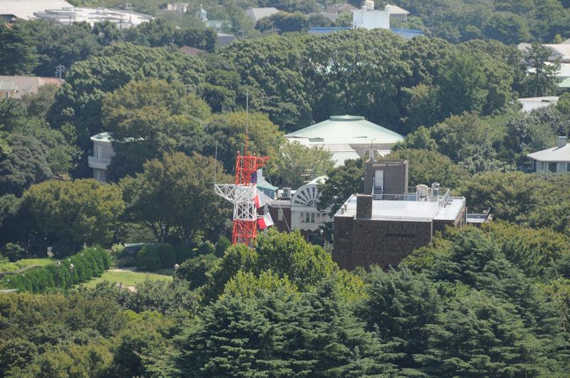 大佛次郎記念館が見えます