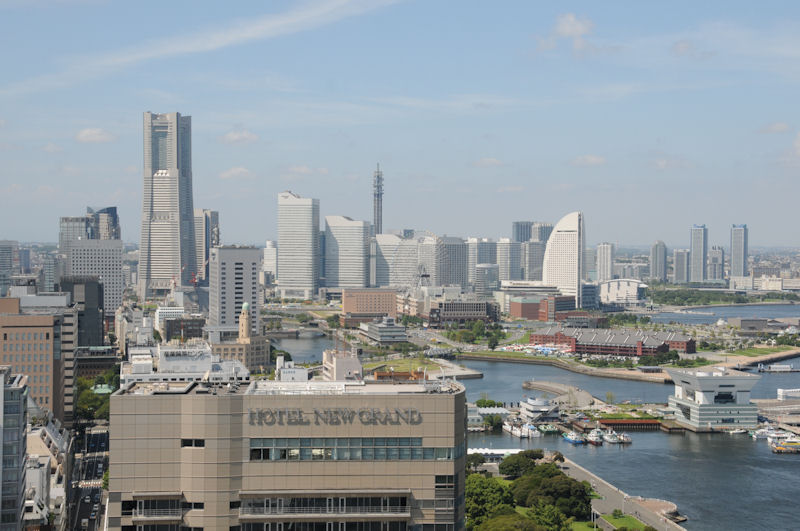 横浜中心部