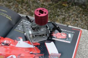フェラーリF2007のエンジン