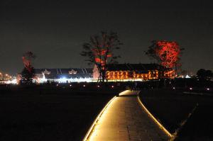 開港の丘からの赤レンガ倉庫