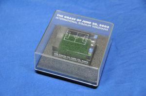 記念の「スタジアムの芝」