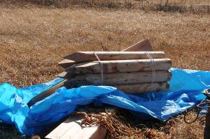 たくさんの木材
