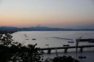横須賀・走水からの夕景