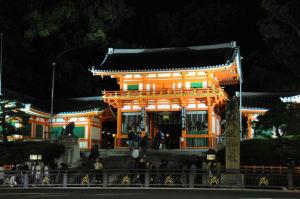 八坂神社、西楼門