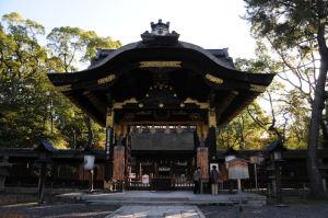 豊国神社拝殿