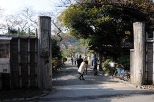 三溪園入口