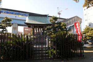 琵琶島神社拝殿