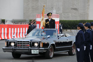 神奈川県警年頭視閲式