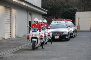 続・平成24年神奈川県警年頭視閲式