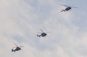 神奈川県警察航空隊のヘリ