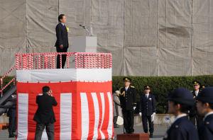 黒岩県知事の祝辞