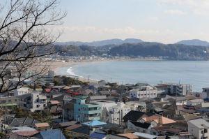 鎌倉の冬の海