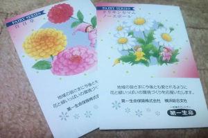 花の種を届けてくれます