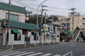 横浜逗子線(釜利谷六浦地区)