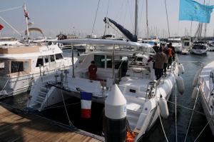 双胴船タイプのヨット