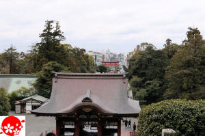 鎌倉駅の方角