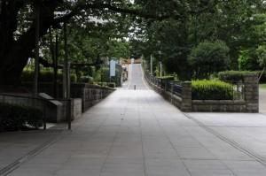 スタンプラリーでこの坂を歩きました