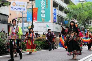 アンデス村祭り隊