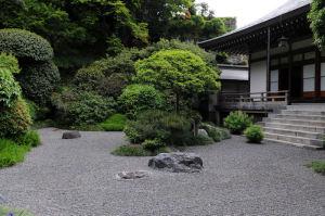 迦葉堂の庭園