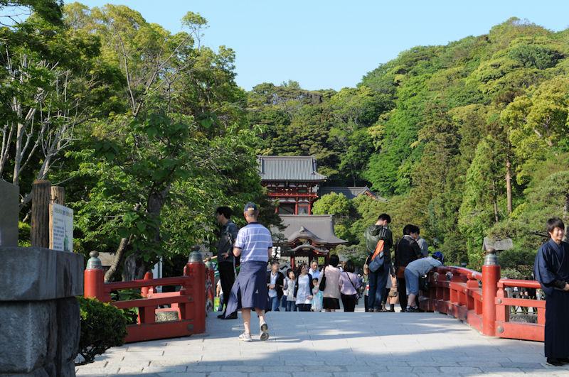 鎌倉・頼朝の墓~鶴岡八幡宮