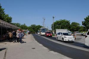 道路も渋滞