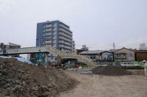 造成工事中の第2街区