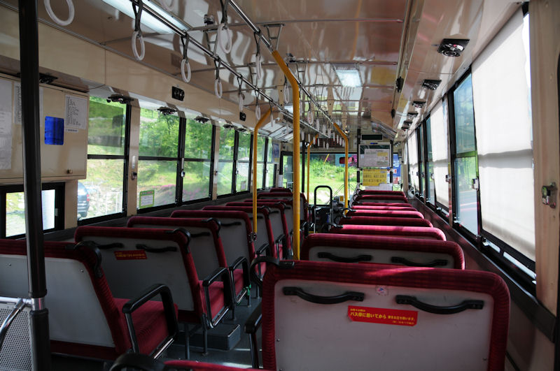大清水行き路線バス