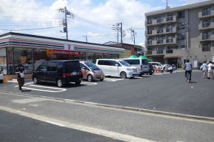 駐車スペースは20台ほど