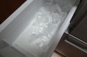 氷が少ない