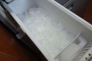 製氷されています